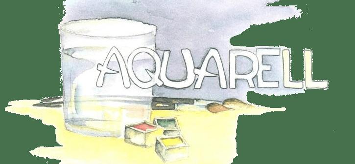 Aquarellpapier - Malblöcke für Aquarell / Aquarellmalerei