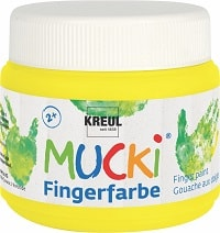 Mucki Quietsch Fingerfarbe Fingermalfarbe 150 ml