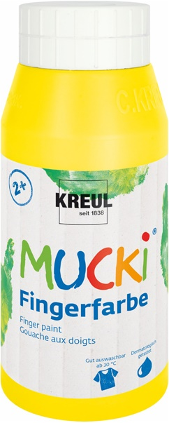 Mucki Fingerfarbe Fingermalfarbe 750 ml