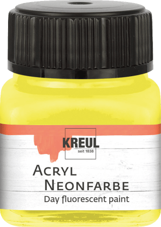 Acrylfarbe Neonfarbe Day fluorescent 20ml