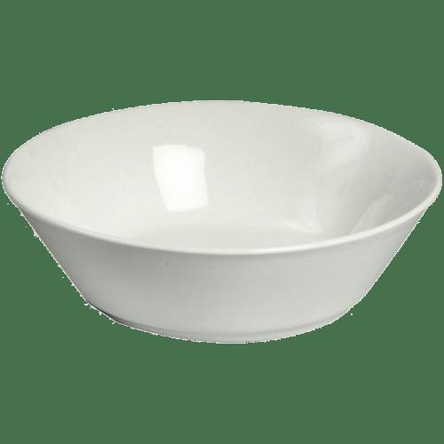 16551 Müslischale Porzellan Weiß