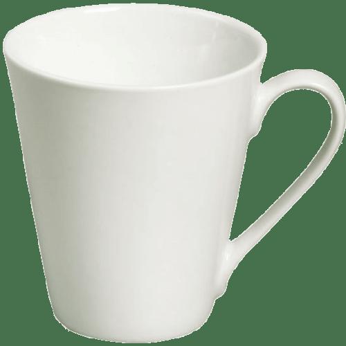 16565 Tasse klein Porzellan Weiß
