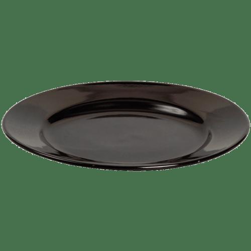16558 Teller Keramik Schwarz