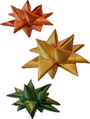 Fröbelsterne Kunststoff einfarbig