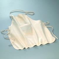 Kinderschürze mit Tasche 60x50 cm natur