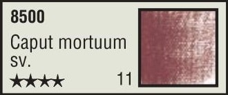 Nr. 11 Caput Mortuum hell