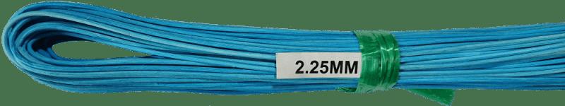 Peddigrohr Ø 2,25mm 250g Bund - Blau