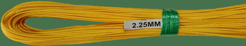 Peddigrohr Ø 2,25mm 250g Bund - Gelb