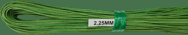 Peddigrohr Ø 2,25mm 250g Bund - Grün