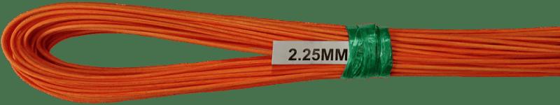 Peddigrohr Ø 2,25mm 250g Bund - Orange