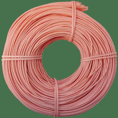 Peddigrohr Flechtmaterial Rosa - Zartrosa, Ø 2,5mm, 250g Rolle