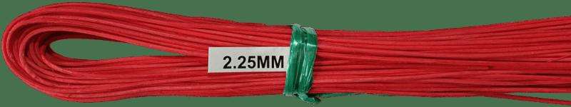 Peddigrohr Ø 2,25mm 250g Bund - Rot