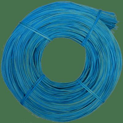 Peddigrohr Qualität Rotband - intensiv Blau gefärbt