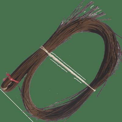 Peddigrohr Qualität Rotband - Braun geräuchert