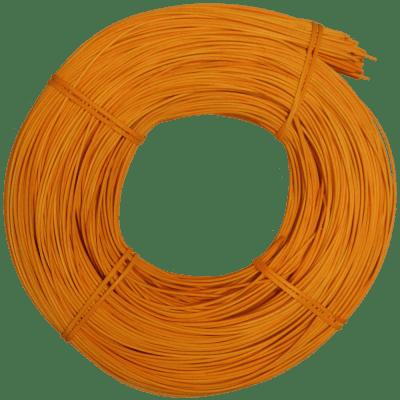 Peddigrohr Qualität Rotband - intensiv Orange gefärbt