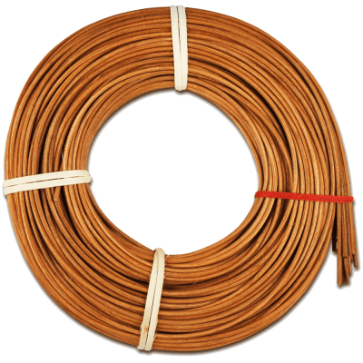 Peddigrohr Braun 100g Ø 2,4mm