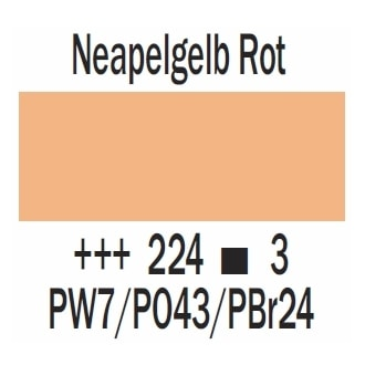 Royal Talens Cobra Artist wasservermischbare Ölfarbe 40ml - Neapelgelb rot