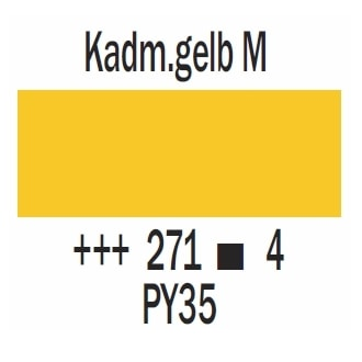 Royal Talens Cobra Artist wasservermischbare Ölfarbe 40ml - Kadmiumgelb mittel