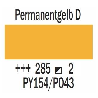 Royal Talens Cobra Artist wasservermischbare Ölfarbe 40ml - Permanent Gelb dunkel