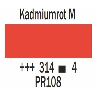 Royal Talens Cobra Artist wasservermischbare Ölfarbe 40ml - Kadmiumrot mittel