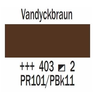 Royal Talens Cobra Artist wasservermischbare Ölfarbe 40ml - Vandyckbraun