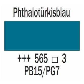 Royal Talens Cobra Artist wasservermischbare Ölfarbe 40ml - Phthalotürkisblau