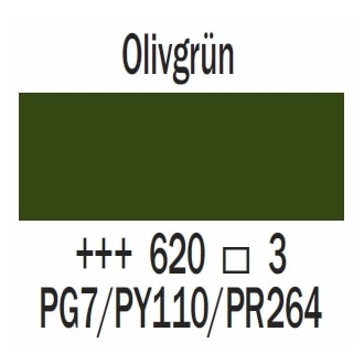 Royal Talens Cobra Artist wasservermischbare Ölfarbe 40ml - Olivgrün
