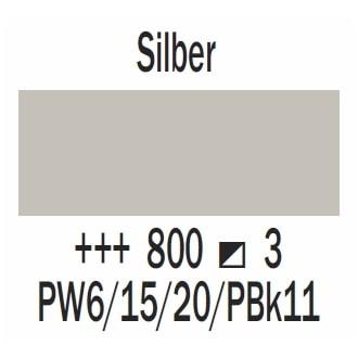 Royal Talens Cobra Artist wasservermischbare Ölfarbe 40ml - Silber