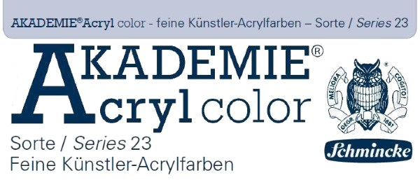 Schmincke Akademie Acryl color Effektfarbe 60ml Tube