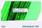 553 Phthalogrün hell