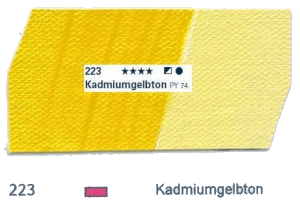 Schmincke Akademie Acryl - 60ml - 223 Kadmiumgelbton