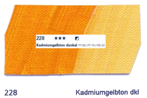 Schmincke Akademie Acryl - 60ml - 228 Kadmiumgelbton dunkel