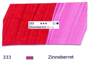 Schmincke Akademie Acryl - 60ml - 333 Zinnoberrot
