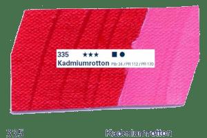 Schmincke Akademie Acryl - 60ml - 335 Kadmiumrotton