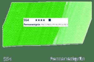 Schmincke Akademie Acryl - 60ml - 554 Permanengrün