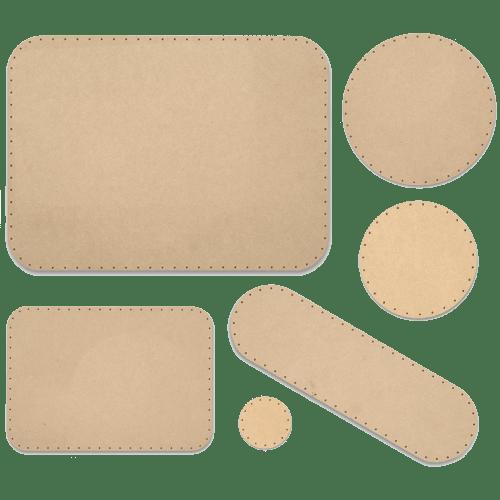 Korbflechtböden vorgebohrt - rund oval eckig aus MDF und Sperrholz