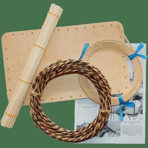 Korbflechten lernen mit Sets & allen Materialen