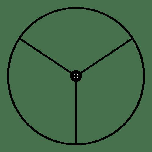 Weidenspalter Schnittmuster dreigeteilt