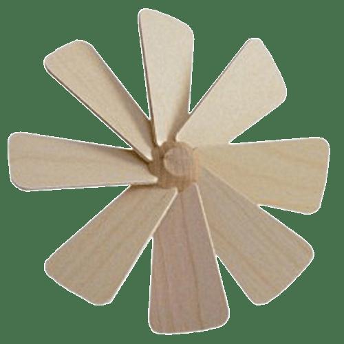 komplette Flügelräder für Pyramiden in verschiedenen Ausführungen und Größen